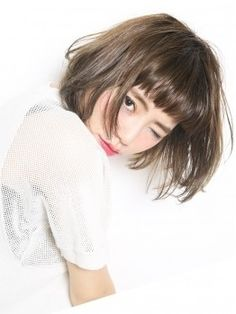 Outstanding Hair inspiration information are available on our web pages. Have a look and you wont be sorry you did. Haircuts For Wavy Hair, Short Hair Cuts, Bob Hairstyles, Medium Hair Styles, Natural Hair Styles, Short Hair Styles, Korean Short Hair, Middle Hair, Hair Arrange