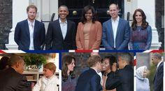 Barack Obama a passé pas mal de temps avec la famille royale britannique lors de sa visite