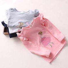 Seashells Kids Kids Applique Long-Sleeve T-Shirt | YESSTYLE