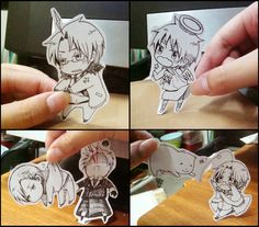 Hetalia ~~ Portable sized cuties