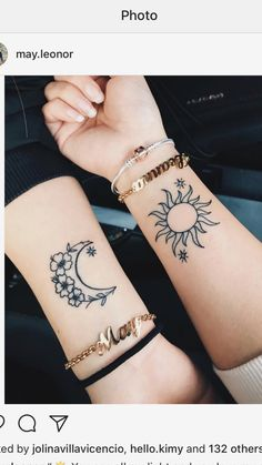 (notitle) (notitle),Tattoowunsch ✨ Related posts:Kartoffelgratin-Rezept - Crockpot Easy Valentine's Day Nail Art Ideas 2019 - - - Easy nail artUm, Are You Even BFFs if You Don't Get One. Dainty Tattoos, Mini Tattoos, Small Tattoos, Temporary Tattoos, Temporary Tattoo Designs, Cute Best Friend Tattoos, Matching Best Friend Tattoos, Matching Tattoos For Sisters, Small Matching Tattoos