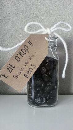 Pensioenfeest #8. Geschenkjes voor de gepensioneerde! #retirement #pensioenfeest #party #theme #gifts #presents #drop #blog #Beaublue