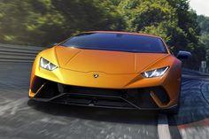 Linda! Lamborghini Huracán Performante surge em toda sua glória em Genebra