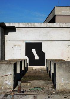-ct- | black | minimalism | geometry | graffiti | street art |