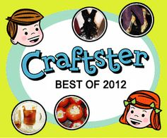 AMAZING compilation of projects, tutorials and recipes from 2012!! - Craftster Best of 2012