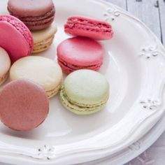 French Macaroons, simple, beautiful and taste divine. I've never made macaroons b4 nor have I ever tasted one but I would really like to try it someday and make them as well. I have a craving 4 something I've never tasted ...