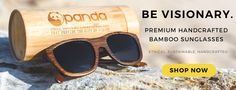 Panda Sunglasses - Bamboo Wooden Sunglasses for Social Cause.PANDA originated in the Paper Mill tucked away in the historic Georgetown neighborhood of Washington, D.C.. PANDA is on a journey to change the environmental and social impact of sunglasses. Each pair of high-end PANDA sunglasses is handcrafted from sustainable bamboo and the polarized lenses are made from recycled polycarbonate materials. Every purchase provides the Gift of Vision through the TOMA Foundation, an international…