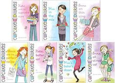 My favorite series of books!!!!!!!!   The Cupcake Diaries