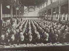 Benefits: While this scene of a workhouse mealtime might look bleak, reports suggest that ...