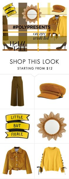"""#PolyPresents: Wish List - Little But Fierce"" by evelin-vivien-laczko on Polyvore featuring Joseph, WithChic, Sergio Rossi, contestentry and polyPresents"
