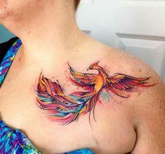 Watercolor Phoenix!
