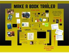 I pinned this because fan book trailers are widely popular online. This might be a terrific project for a TAB group because they learn how to sell a story through photos. Uploaded videos could be used to promote participation in TAB.