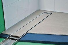 tile insert drains in paving Detail Design, Mirrors, Tile Floor, Flooring, Tile Flooring, Wood Flooring, Mirror, Floor
