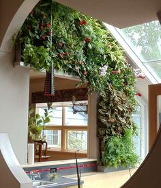 Beautiful Living Wall Decor For Indoor And Outdoor - Page 15 of 38 Vertical Garden Design, Vertical Gardens, Vertical Planter, Design Jardin, Walled Garden, Hydroponics, Indoor Plants, Outdoor Gardens, Green Walls