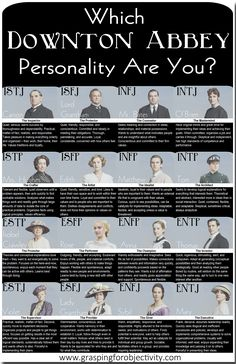 Which Downton Abbey personality are you?
