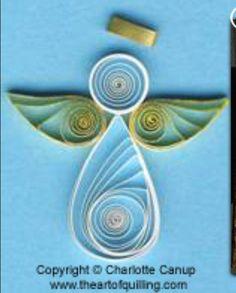Simple angel design