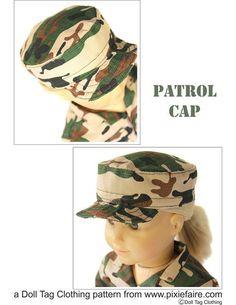 Army Combat Uniform Pattern Patrol Cap