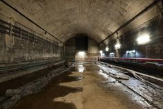 St James Station Tunnels Show A World Beneath Sydney - fodder for fiction - SF of course!
