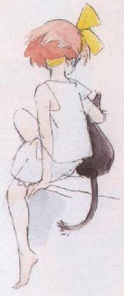 "The Art of Studio Ghibli From ""Kiki's Delivery Service"" by Hayao Miyazaki"