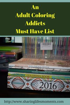 I got into adult coloring LONG before it was cool! This adult coloring addicts must have list will help you with your present shopping needs.  via @SLM016