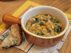 This looked so hearty and filing, and it's replete with lots of nourishing kale. Ribollita from CookingChannelTV.com (Extra Virgin)