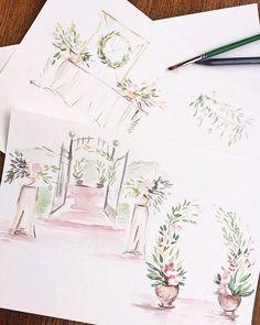 Autumn wedding planning  А мы с @rungeanna на завершающем этапе планирования одной весьма стильной сентябрьской свадьбы  #specialdayagency