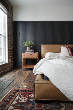 Nordic Master Bedroom Refresh — olliePop : home design + remodel Black Master Bedroom, Master Bedroom Design, Bedroom Inspo, Bedroom Inspiration, Bedroom Ideas, Rustic Bedroom Design, Master Bedrooms, Design Inspiration, Nordic Bedroom
