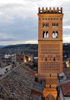 Torre mudéjar de El Salvador, Teruel.