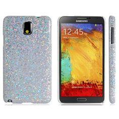 Glitter White Samsung Galaxy Note 3 Case