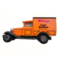 Vintage 1979 Matchbox Kellogg's Frosted Mini-Wheats Model A Ford Mail Give Away #Matchbox #Ford