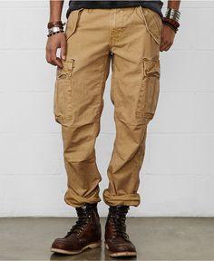 Denim & Supply Ralph Lauren Field Cargo Pants - Pants - Men - Macy's