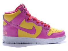 Google Image Result for http://www.whatthedunk.net/images/Nike-Dunk-High/Nike-Dunk-High-Tops-Pink-Yellow-Fragment-Design-Logo.jpg  LOVE