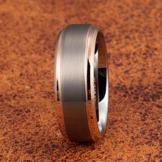 Gemini Groom /& Bride Matching Couple Titanium Wedding Engagement Bands Rings Set 6mm /& 4mm Width Men Ring Size 11.5 Women Ring Size 6.5