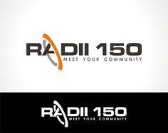 RADII 150  |  Featured Logo Design  |  logobids.com  |  #logo #design