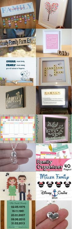 Family is Beautiful !  by TheDaintyBoutique on Etsy--Pinned with TreasuryPin.com