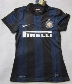 Inter de Milán 2013 14 Camiseta futbol Mujer  003  - €16.87   Camisetas de  futbol baratas online! 30f480d2362a9