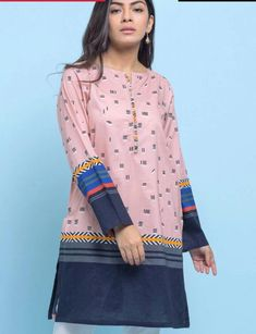 Kurta Style, Pakistani Outfits, Kurti, Pullover, Clothes For Women, My Style, Blouse, How To Wear, Shirts
