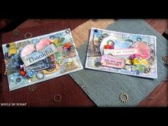 How to Make Mixed Media Cards