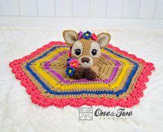 Meadow the Sweet Fawn Lovey crochet pattern - Allcrochetpatterns.net