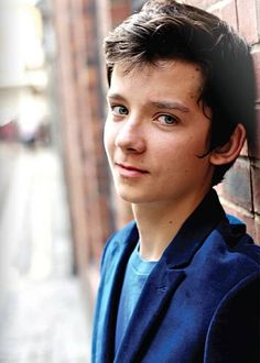 Asa Butterfield. Not a man quite yet but I love the mess of this boy