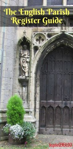 The English Parish Register Guide | Bespoke Genealogy