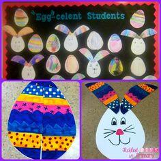 Peek-a-boo bunnies craft