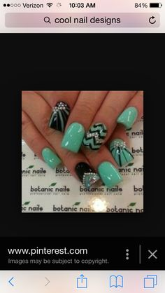 Look at these cool nails