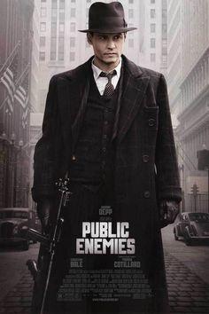 johnny depp movie posters   public enemies movie poster johnny depp   Movie Poster Museum