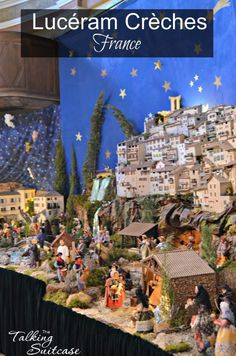 A unique holiday tradition is the hunt for crèches (nativity scenes) in the village of Lucéram. The entire family will enjoy finding the Lucéram crèches.