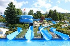 Atlantis Waterslides BC waterslide park in Vernon is waiting for you! Family Road Trips, Family Travel, Camping World Rv Sales, Rv Camping, Vernon Bc, Acadia National Park Camping, Vancouver City, Florida Camping, God