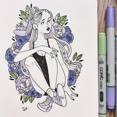 Sibylline Illustration & Comics