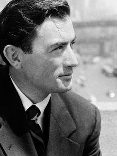 Gregory Peck photographed by Nina Leen, 1947. S)