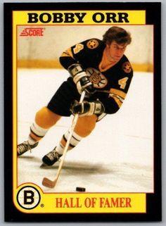 Maple Leafs Hockey, Hockey Hall Of Fame, Bobby Orr, Boston Bruins Hockey, Sports Pics, Star Wars, Tim Hortons, Boston Sports, Hockey Cards