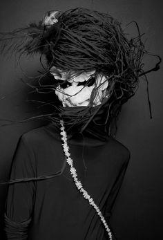 New York based portrait/editorial/fashion photographer, videographer and make up artist Portrait Editorial, Editorial Photography, Art Photography, Fashion Photography, Gothic, The Mind's Eye, Paper Birds, Masks Art, Colorful Fashion